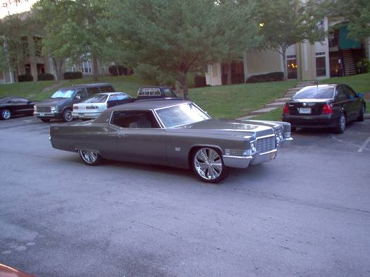 69 cadillac coupe 4 sale 8 500 or trade. Black Bedroom Furniture Sets. Home Design Ideas