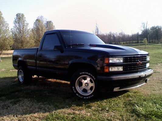 1990 Chevrolet 454 SS 8 Cylinders Black