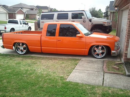 1995 Chevrolet c1500 extend
