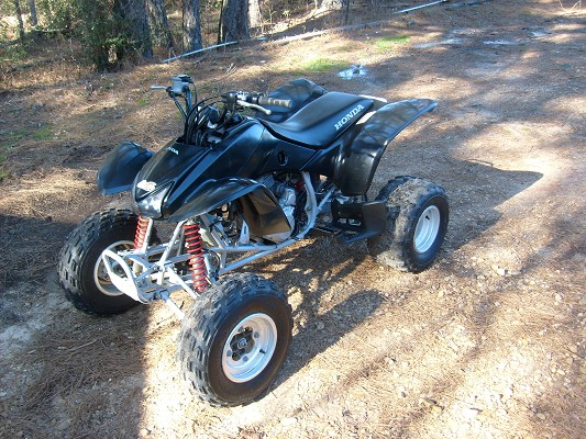 pictures of 400ex. 2006 Honda 400ex used Black