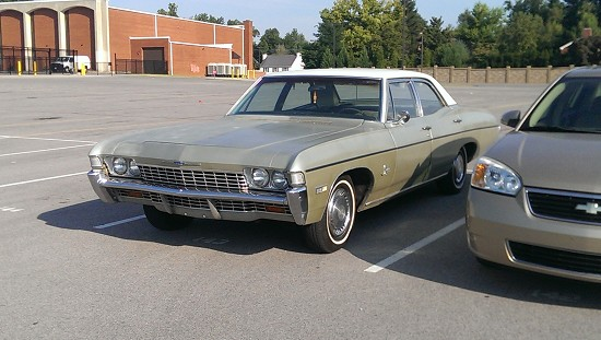 1968 chevrolet impala grey 1968 chevrolet impala classic car in owensboro ky 4261088621. Black Bedroom Furniture Sets. Home Design Ideas