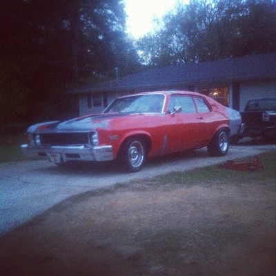 1973 chevrolet nova orange 1973 chevrolet nova classic car in cartersville ga 4290825924. Black Bedroom Furniture Sets. Home Design Ideas