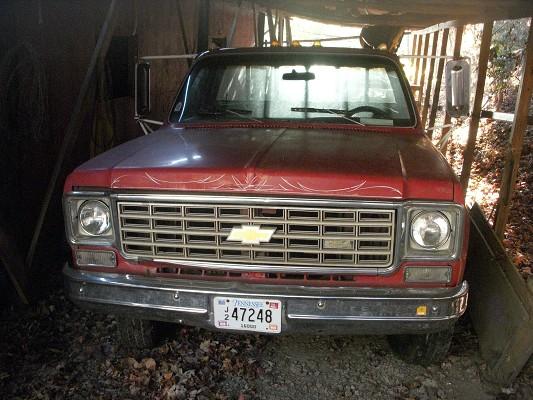1975 Chevrolet Ton truck