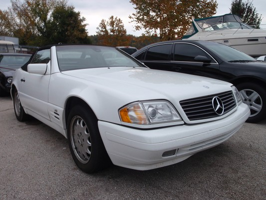 1997 mercedes benz sl600 v12 white 1997 mercedes benz sl600 car for sale in springfield mo. Black Bedroom Furniture Sets. Home Design Ideas