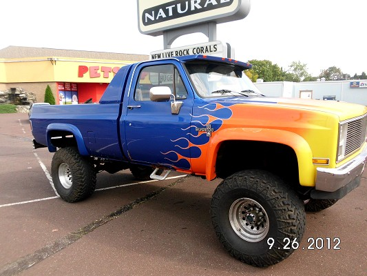1986 Chevy K20 4 by 4  classiccarsmarkscom