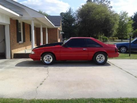 1989 ford mustang red 1989 ford mustang car for sale in bennettsville sc 4384019020 used. Black Bedroom Furniture Sets. Home Design Ideas