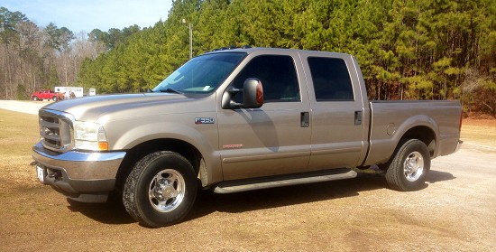 2003 ford f350 tan 2003 ford f 350 truck in meridian ms 4381511079 used cars on oodle. Black Bedroom Furniture Sets. Home Design Ideas