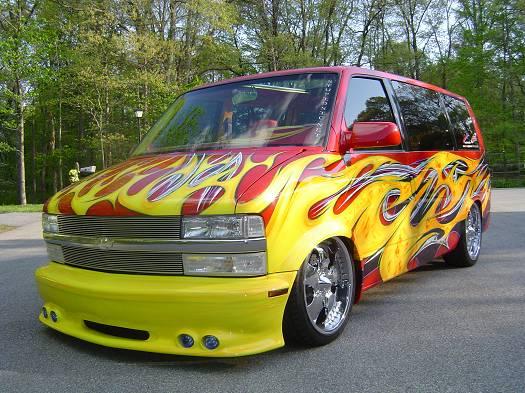 Deal Dash Com Tvs >> 1995 Chevy Astro $15,000 Possible Trade - 100017399 | Custom Van Classifieds | Van Sales