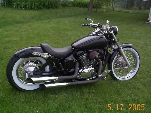 2003 honda shadow spirit 5 800 or best offer   100018708 custom
