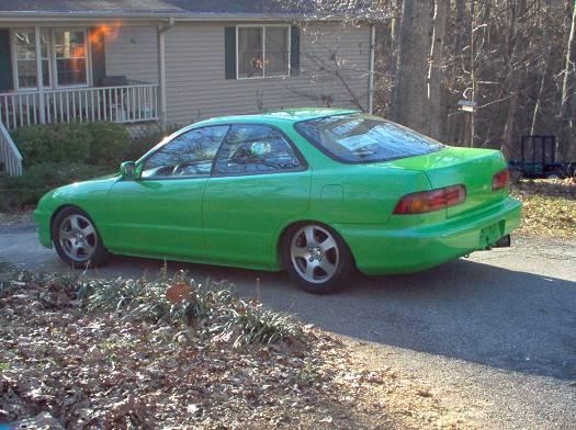 on 1994 Acura Integra Gsr 4 Door