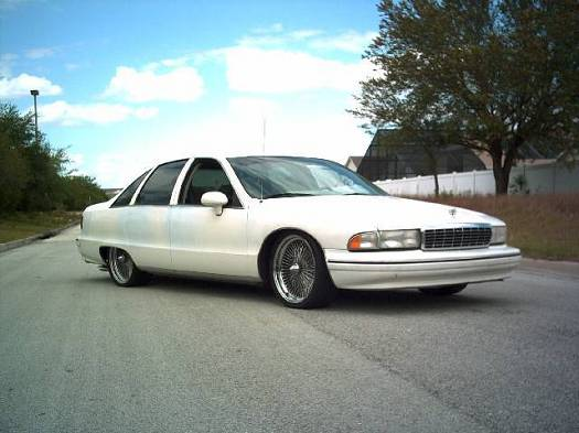 1993 Chevrolet Caprice LTZ related infomation,specifications
