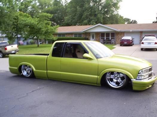 1994 Chevy S10 Bodydropped 10 000 100031773 Custom