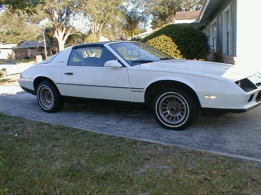 1984 Chevrolet Camaro Berlinetta 2 500 100044388