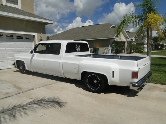 1989 chevy dually pickup