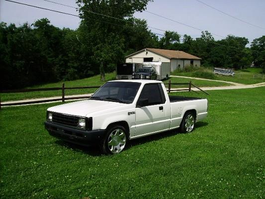 on 1989 Dodge Ram Blue