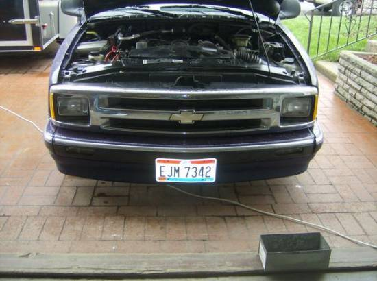 97 s10 front end, core support forward all pieces $100