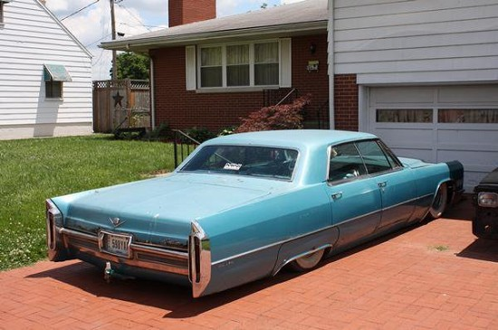 1966 Cadillac Sedan Deville Bagged 2500