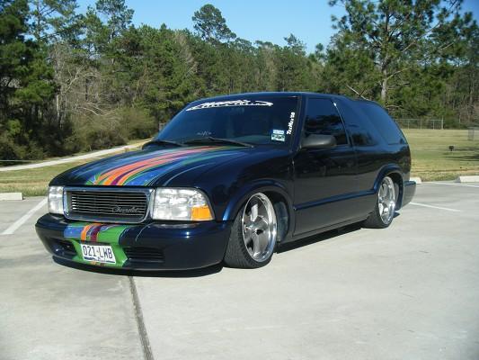 2001 Chevrolet 2 Door S10 Blazer $95,500 Possible trade