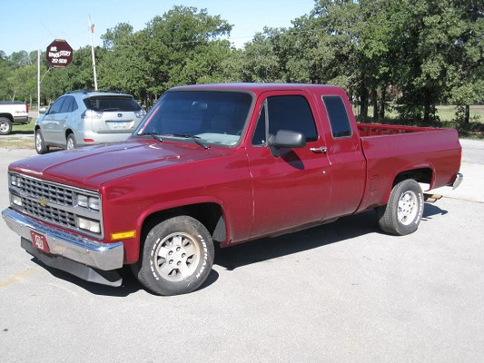 1987 Chevrolet Extended Cab C10 3 500 100479468 Custom Full Size Truck Clifieds S