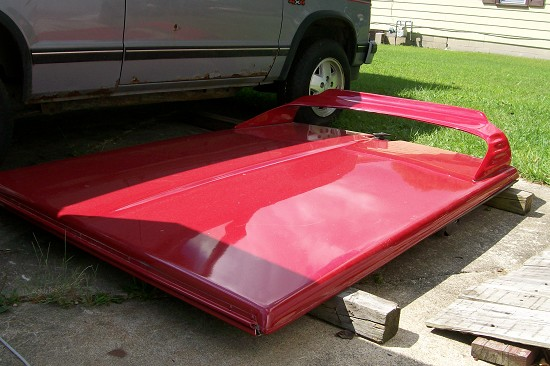 Used A R E Fiberglass Bed Cover 500 Or Best Offer 100205388