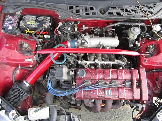 1998 Honda Civic B18b1 Swap 4 200 100401771 Custom