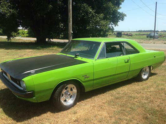 1971 dodge dart custom - photo #16