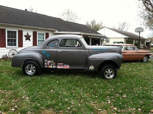 1940 Plymouth Gasser coupe $1 Possible Trade - 100618459 | Custom