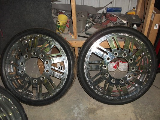 26 Inch American Force Dually Wheels 9 950 Or Best Offer