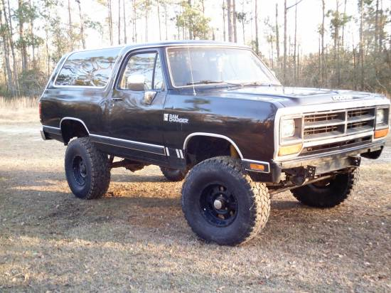 Dodge Ramcharger Interior. 1988 Dodge RAMCHARGER $5000 or
