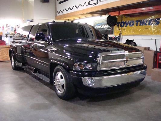 on 97 Dodge 3500 Dually