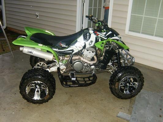 2005 Kawasaki KFX 400 $8,000 Possible trade - 100121340 | Custom ...