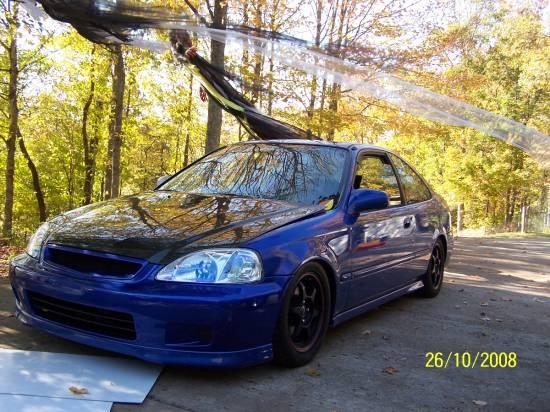 2000 Honda Civic Si 2 500 Firm 100126686 Custom Jdm Car