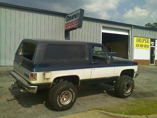 1989 Chevy K5 Blazer Lifted Car Interior Design