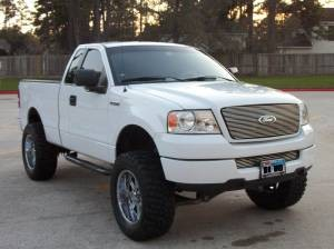 listing description back to top 2005 ford f150 white - White 2005 Ford F150 Lifted