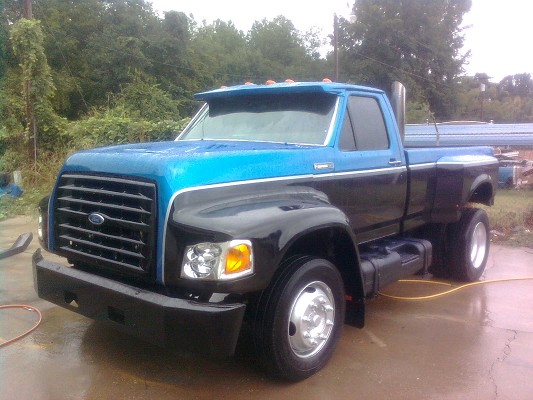 Baja Auto Sales >> 1995 Ford f700 $16,500 Possible Trade - 100426773 | Custom ...