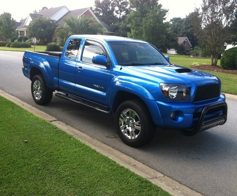 2005 toyota tacoma 1 possible trade 100602189 custom full size truck classifieds full. Black Bedroom Furniture Sets. Home Design Ideas
