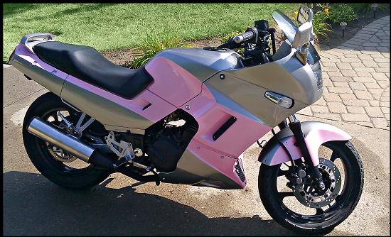 2007 kawasaki ninja 250 $2,200 possible trade - 100506686 | custom