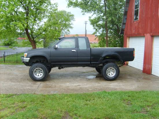 1991 toyota 4x4 pickup 6 000 possible trade 100098628. Black Bedroom Furniture Sets. Home Design Ideas