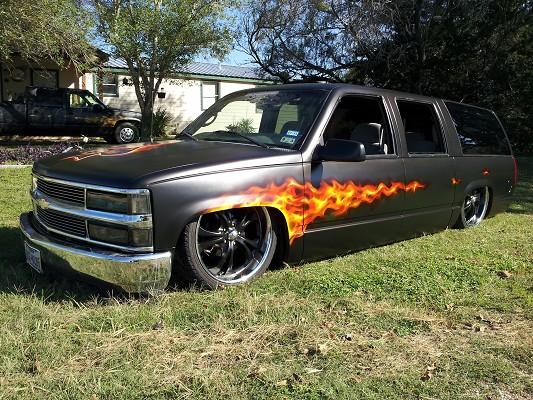 1999 Chevrolet Suburban $12,000 - 100557101 | Custom Full ...