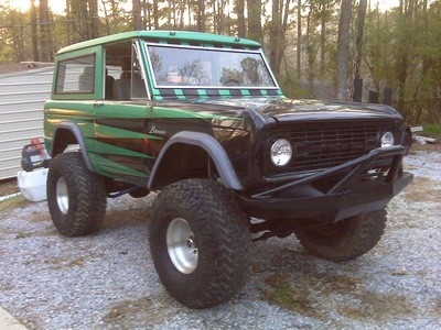 1969 Ford Bronco 4500 Firm
