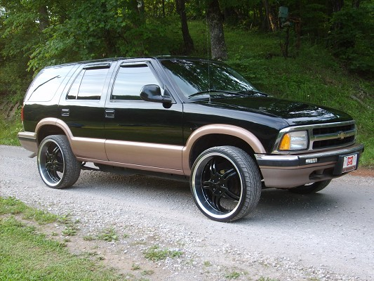 1996 chevrolet blazer 100 possible trade 100187187 custom donk classifieds donk sales mautofied com