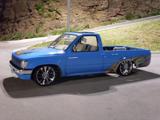 1993 toyota hilux 6 500 100174633 custom mini truck - 1993 toyota pickup interior parts ...