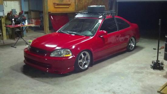 1998 Honda Civic 7 400 100392246 Custom Jdm Car