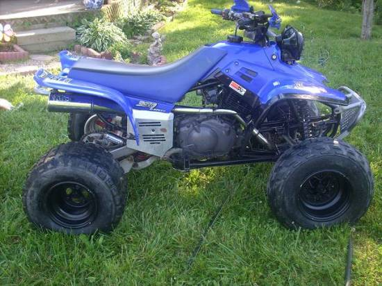 1997 yamaha warrior 1 400 possible trade 100060254 custom other atv classifieds other atv. Black Bedroom Furniture Sets. Home Design Ideas