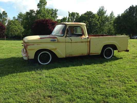 1963 Ford F100 Rat Rod $1 Possible trade - 100580995 ...