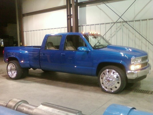 1996 Chevrolet 3500 Dualy 16 500 100319087 Custom