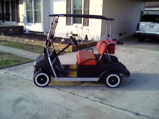 1996 Club Car Golf Cart 2 800 100060719 Custom Mini