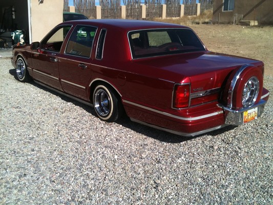 1995 Lincoln Town Car 5 000 Or Best Offer 100384561 Custom Low