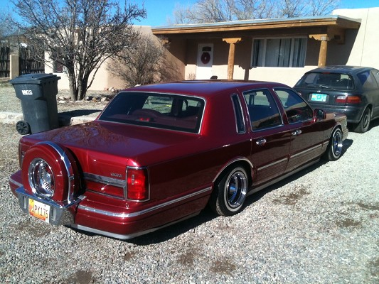 1995 Lincoln Town Car 5 000 Or Best Offer 100454575 Custom Low