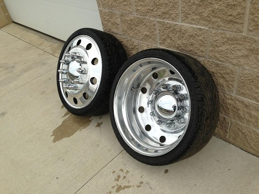 24 Dually Alcoa American Force Wheels 2 000 Firm 100579674